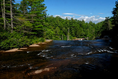 Above High Falls at DuPont State Forest