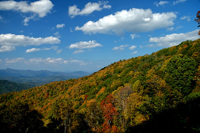 Mid-October on the Blue Ridge Parkway