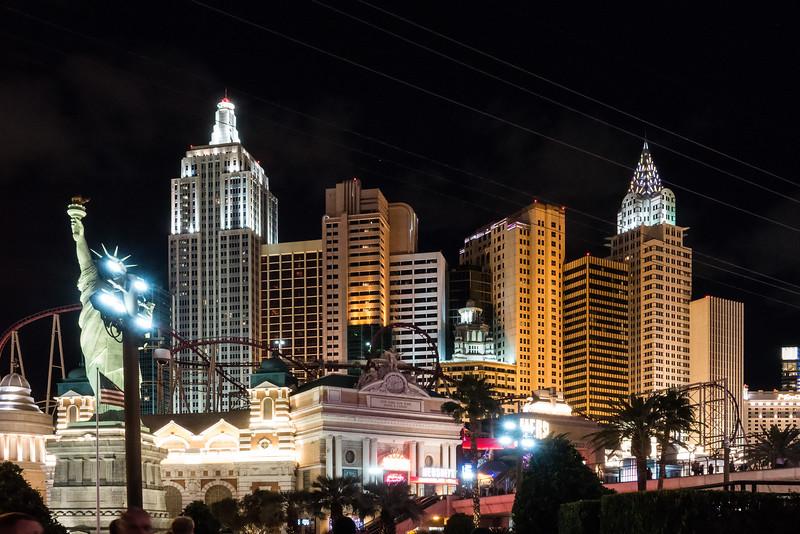 New York, New York Casino, Las Vegas
