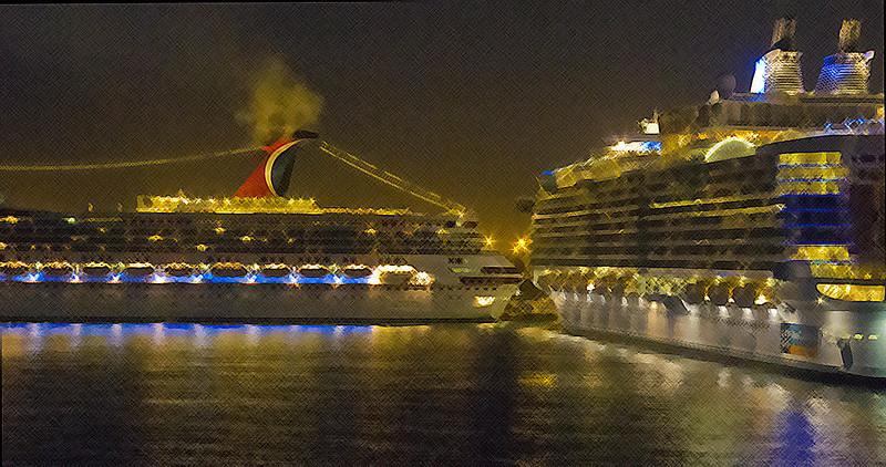Cruise Ships, Ft. Lauderdale, FL