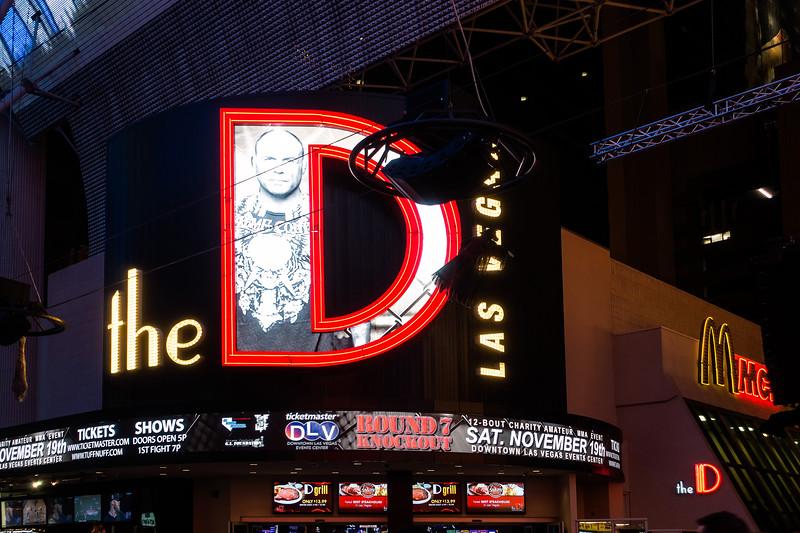"""The """"D"""" (Detroit) Casino, Las Vegas"""