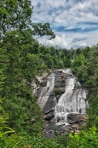 High Falls in DuPont State Park  Cedar Mountain, NC