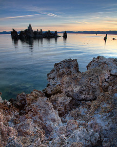 Mono Lake at Sunrise - Sierra Nevada, CA