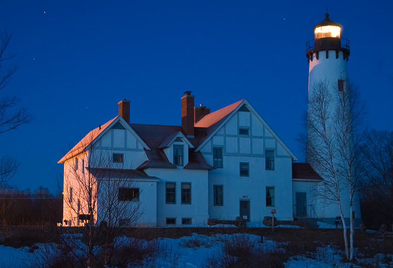 Iroquois Light, Lake Superior, Michigan