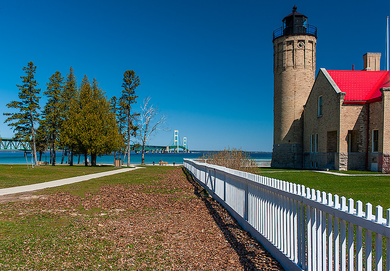Mackinac Point Light, Mackinac City, Michigan