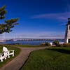 Goat Island Lighthouse, Newport, RI