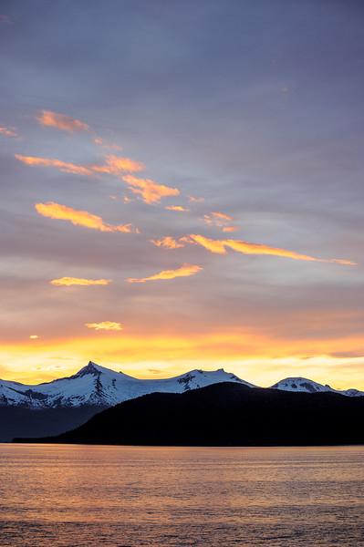 Dawn, Inside Passage, AK