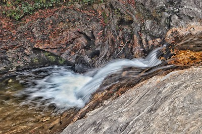 The stream above the falls at Graveyard Fields