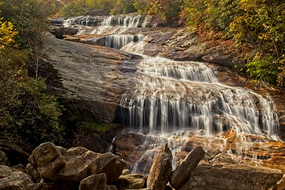 The lower falls at Graveyard Fields
