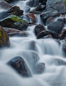 Upper Water Falls at Twin Lakes - Bridgeport, CA