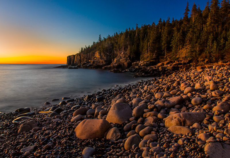 Otter Cliff Sunrise; Acadia NP