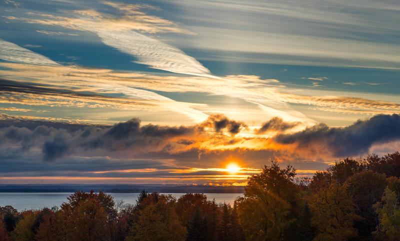Old Mission Peninsula Sunrise