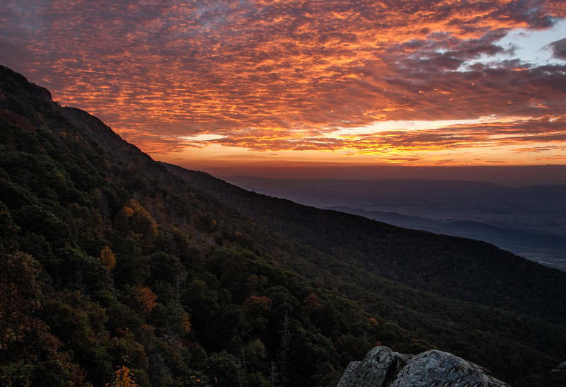 Little Stony Man Overlook; Shenandoah National Park, Virginia