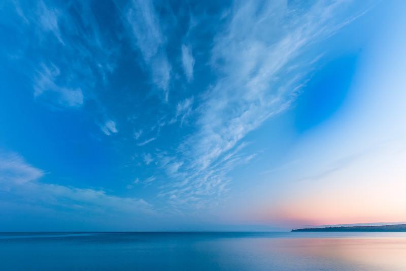 Sunrise; Lake Superior