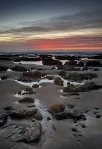 Calm Sunset at Morro Strand - Morro Bay, CA