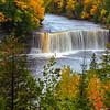 Tahquamenon Falls; Paradise, MI (upper falls)