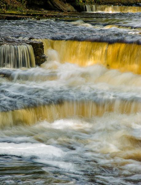 Whitefish Falls; Trenary, Michigan