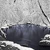 Blue Winter Pool - Rutledge Falls Natural Area - Tullahoma, Tn