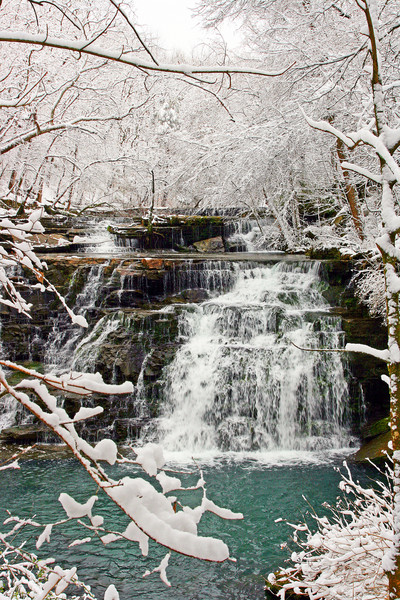 Rutledge Falls Winter 2009 - Rutledge Falls Natural Area - Tullahoma, TN