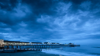 Southwold pier late evening