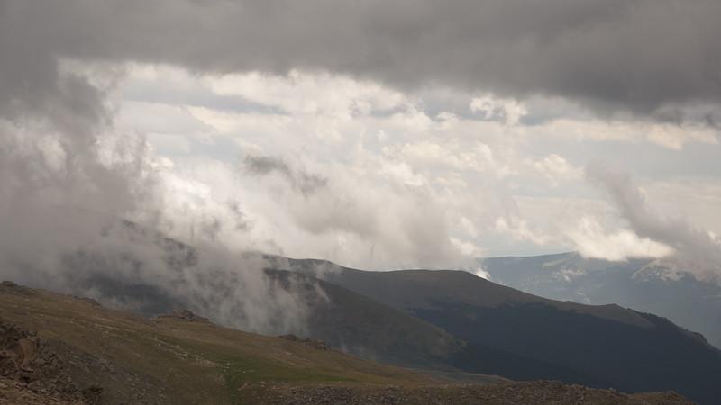 Storm In The Mt Evans Wilderness