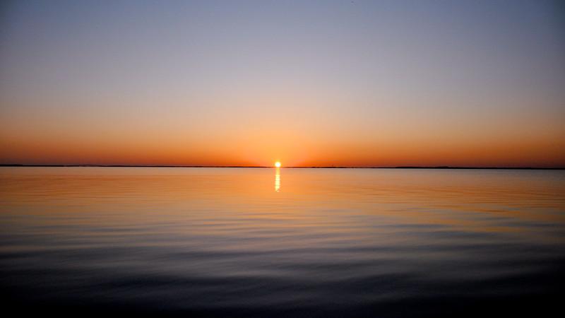 Sunset On Card Sound