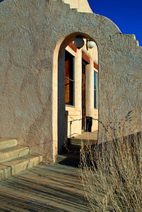 Stucco Doorway