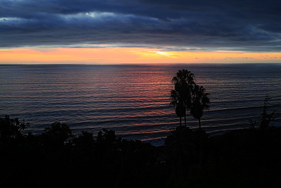 Another beautiful sunset, courtesy of Santa Barbara, CA