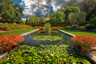 "Filoli Gardens in Woodside California.   Home to many different movie sets and TV shows including the 1980's show ""Dynasty""..."
