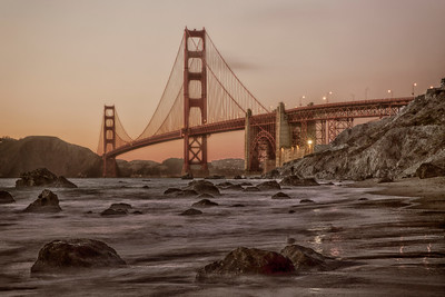 San Francisco's world-famous Golden Gate Bridge