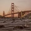 San Francisco's world-famous Golden Gate Bridge