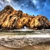 Keyhole Rock - south of san Francisco on the Big Sur coastline