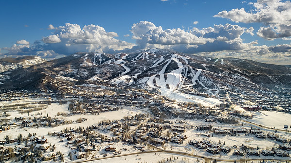 The Steamboat Springs Ski Resort