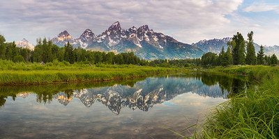 Schwabachers Landing  Grand Tetons National Park, Wyoming