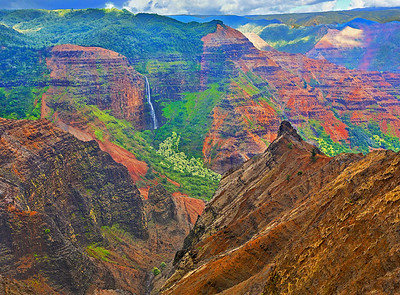 Kauai's Grand Canyon - the Waimea Canyon