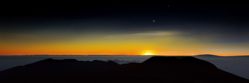 Dawn on Haleakala