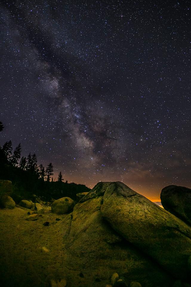 Milky Way over Bonsai