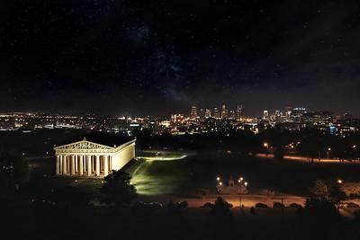Parthenon Building - Nashville, Tennessee