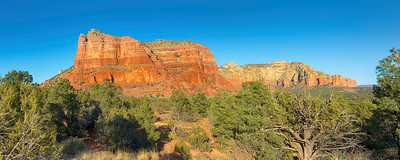 """The red rocks of Sedona Arizona are an amazing photographer's paradise.  This piece is designed to be printed at 20"""" x 50"""" and would display the colors amazingly in an acrylic medium.  Each acrylic is built by hand with a metallic print sandwiched between a hard back and a 1/4"""" high quality acrylic sheet and finished with a french cleat to make hanging a breeze!  Prints are available using the """"Buy"""" button below - acrylics require special ordering which can be done by using the """"Contact"""" link above.  I will work with you to determine a final size, format, delivery and cost..."""