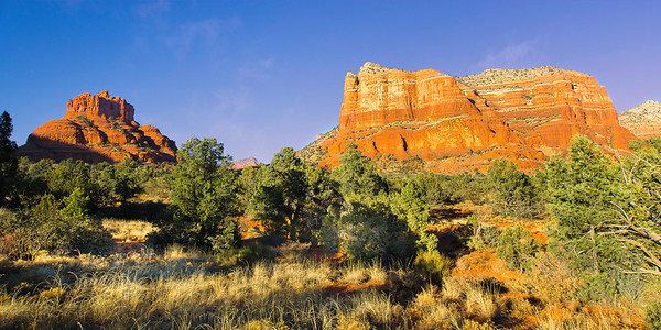 "The red rocks of Sedona Arizona are an amazing photographer's paradise.  This piece is designed to be printed at 15"" x 30"" and would display the colors amazingly in an acrylic medium.  Each acrylic is built by hand with a metallic print sandwiched between a hard back and a 1/4"" high quality acrylic sheet and finished with a french cleat to make hanging a breeze!  Prints are available using the ""Buy"" button below - acrylics require special ordering which can be done by using the ""Contact"" link above.  I will work with you to determine a final size, format, delivery and cost..."