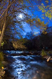 Blue Moon Over Oak Creek, Sedona