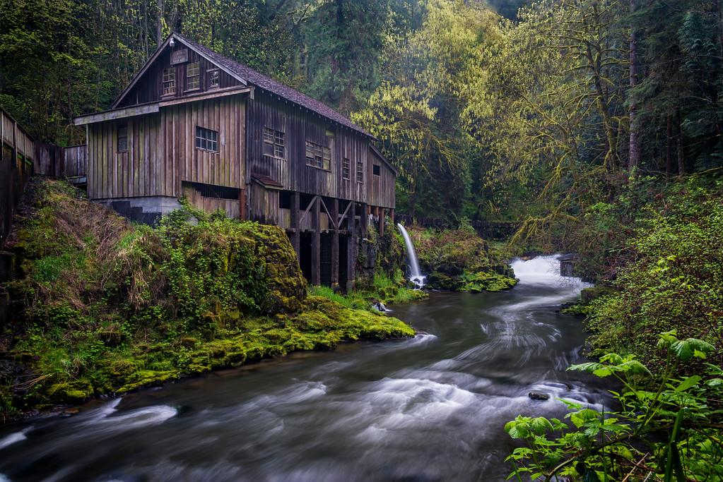 Cedar Creek Grist Mill.