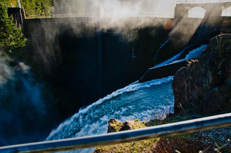 Upper Elwa Dam.