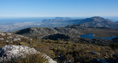 Taken from Table Mountain, Cape Town.
