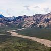 Glacier melt Denali Natl Park