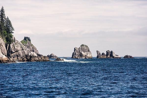 Turning into Resurrection Bay