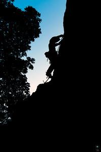 Climber, Pietra di Bismantova. Arrampicata 5.