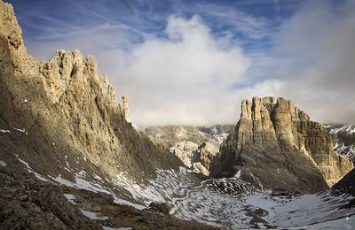 Torri del Vajolet 1, Dolomiti. Alpi