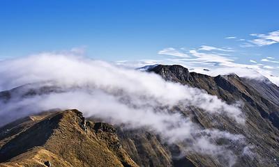 Monte Matto, vista verso il Monte Sillara