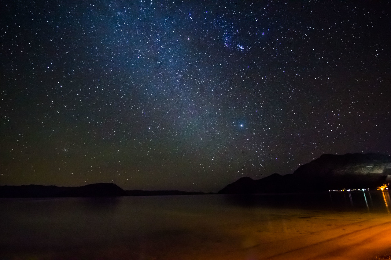 Coyote Bay Starscape